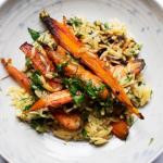 Recipe for carrots with shallots and orzo